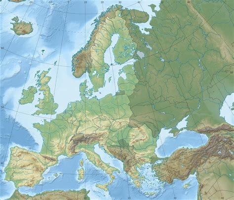 geography of europe map geography of the european union