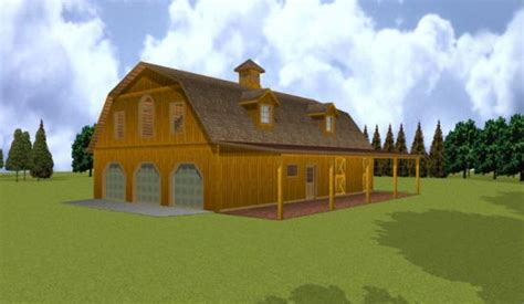 Gambrel Barn House Plans by Small Sheds Gambrel Barn Plans With Apartment
