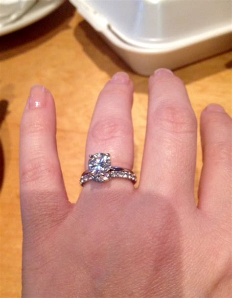 Wedding Bands To Pair With Solitaire by What Of Band Did You Pair With Your Solitaire Show