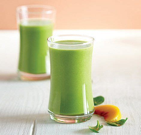 Best Vitamix Detox Smoothie by Peachy Green Smoothie Recipe Green Smoothies Smoothie