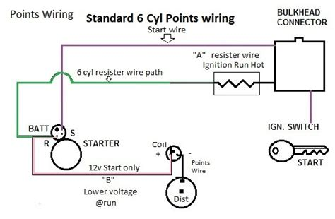 points distributor wiring diagram chevrolet 28 images