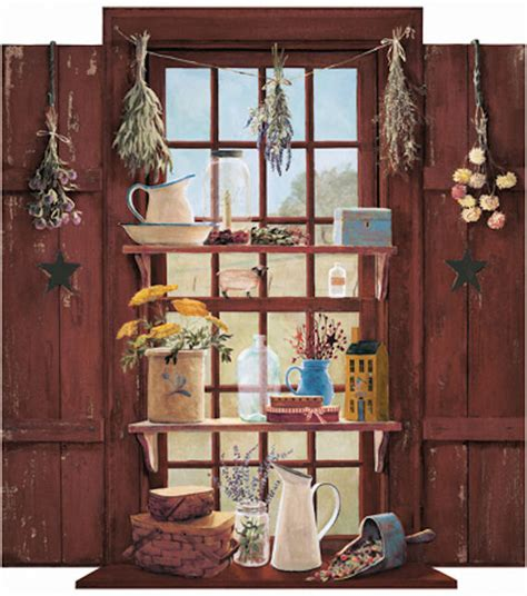 country wall murals country things window wall mural