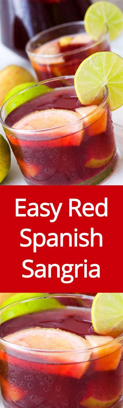 easy homemade sangria recipe how to make spanish red wine sangria melanie cooks