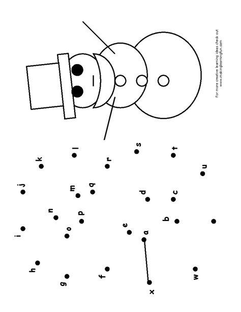 printable alphabet dot to dot worksheets 15 best images of kindergarten worksheets alphabet dot to