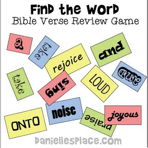 bible games for sunday children s ministry and