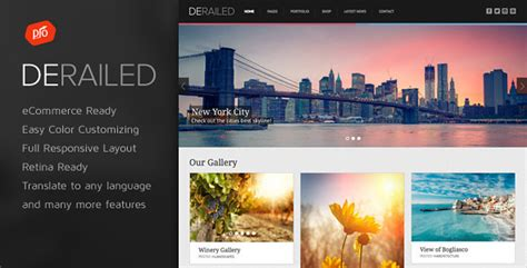 themeforest photography derailed v2 2 photography portfolio theme