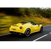 Alfa Romeo 4C Spider Review 2017  Autocar