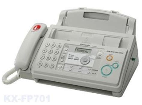 Mesin Fax Panasonic Mesin Laser Fax Panasonic It Kx Fp701