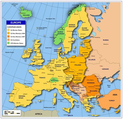 world map europe cities map of europe cities pictures