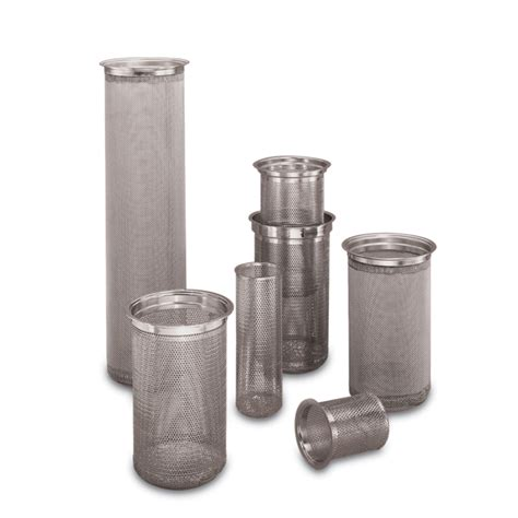 stainless steel316hc filter strainer baskets mesh lined baskets rosedale products inc