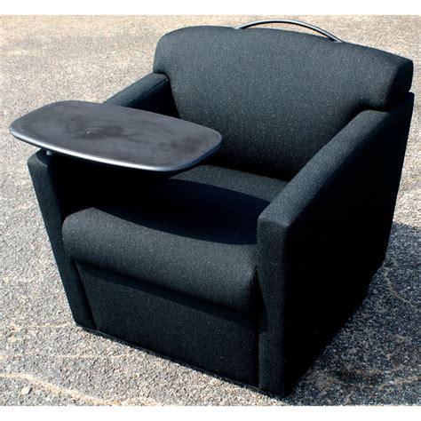Tray For Chair by Brayton International Black Club Chair With Tray Ebay