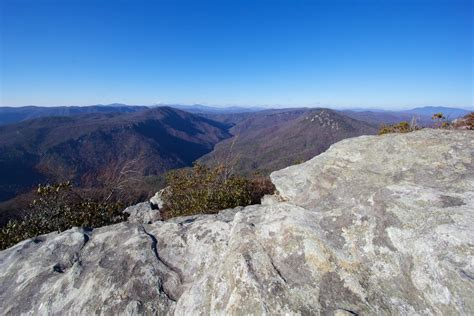 Table Rock Hike by Table Rock Trail Hiking Linville Gorge In Carolina