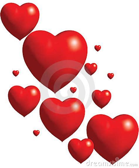 imagenes de corazones grandes y rojos collage de los corazones rojos del globo imagenes de