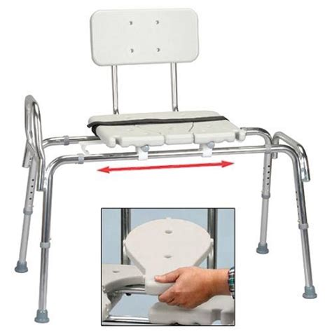 how to use a transfer bench extra long sliding transfer bench with cut out center