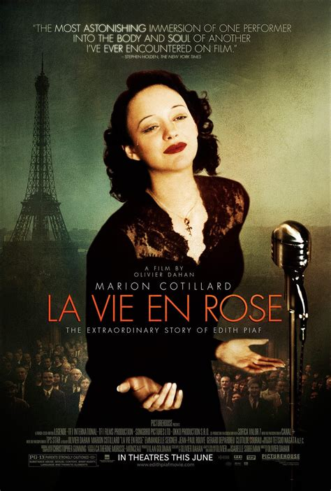 biography of the film subscene la vie en rose the passionate life of edith