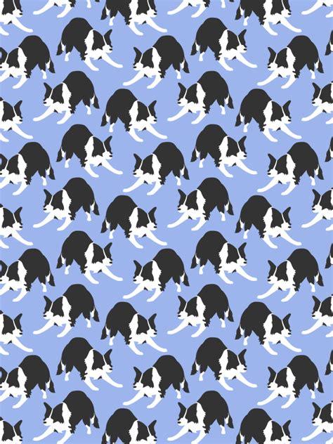 pattern white border collie border collie pattern by scarletdev on deviantart