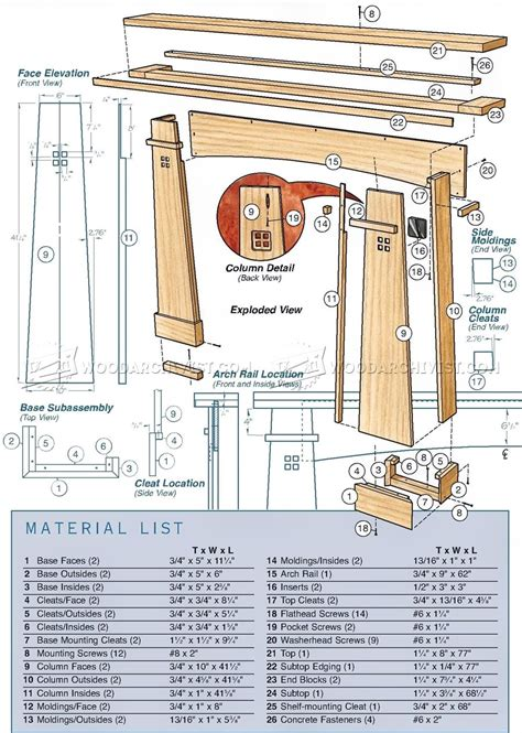 fireplace plans fireplace mantel plans woodarchivist