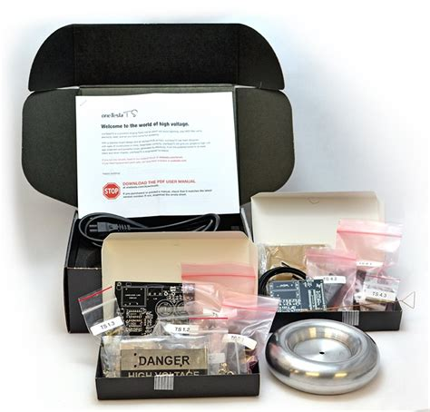 Musical Tesla Coil Kit Oneteslats Diy Musical Tesla Coil Kit