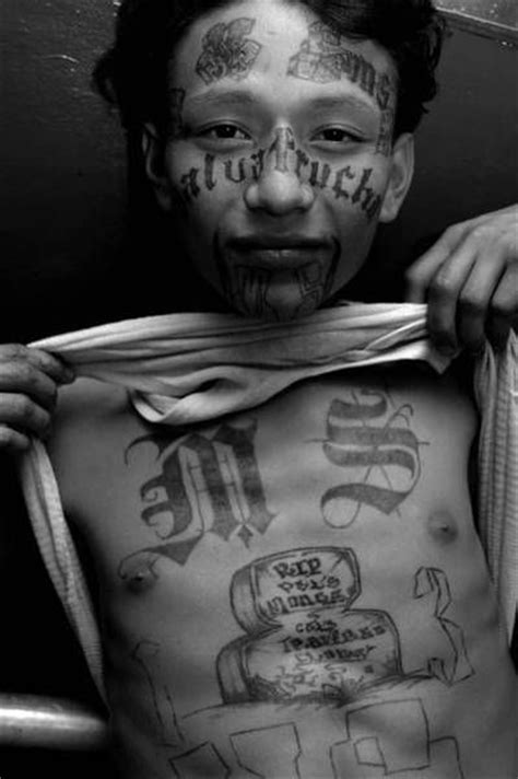 ms 13 gang tattoos marked for ms 13 18th tattoos