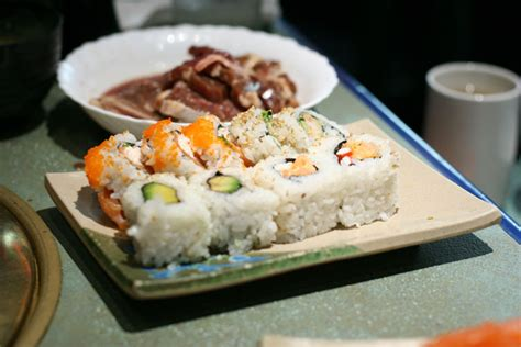japanese restaurant cook at table all you can eat dine out here vancouver bc canada