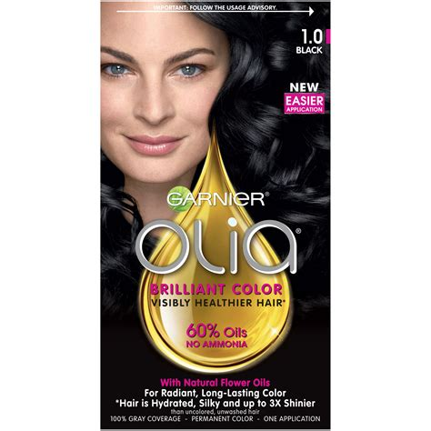 olia colors garnier olia hair color 3 0 darkest brown
