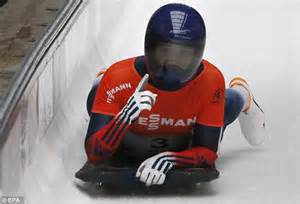 During The Gold Where Did Flock To In Search Of Riches Lizzy Yarnold Wins World Cup Event Of The Season A Year To The Day Since She
