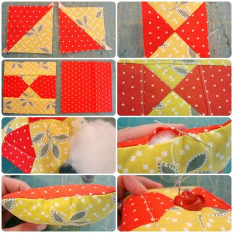 Free Pincushion Patterns Quilting by Quilt Block Pin Cushions 52 Quilt Block Up
