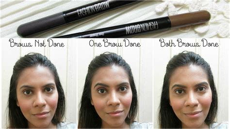 Maybelline Fashion Brow Brown maybelline fashion brow price review demo