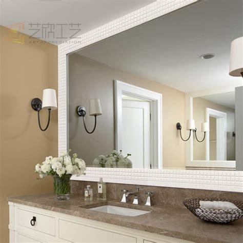 specchio bagno cornice classica handmade adesivo cornice specchio bagno