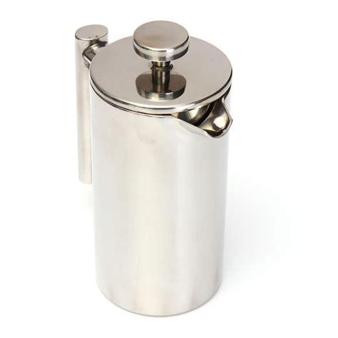 Tea Plunger 350 Ml Press Tea Cofee Maker Alat Teh Kopi 350ml wall stainless steel coffee fliter plunger