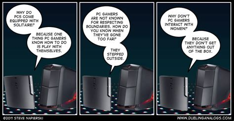 pc and console pc vs console part i pc gaming a comic