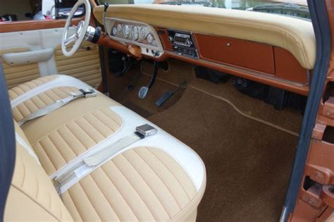 custom car upholstery houston 1972 ford f 100 460 v8 beautiful custom interior c6
