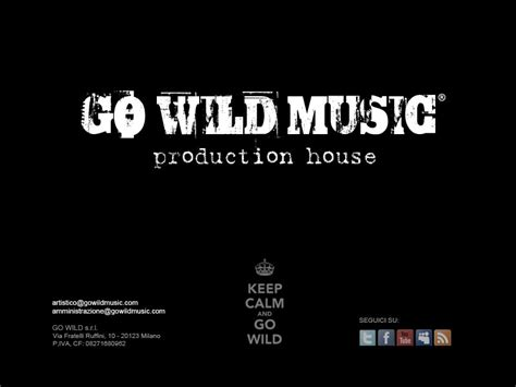 music production houses go wild music production house