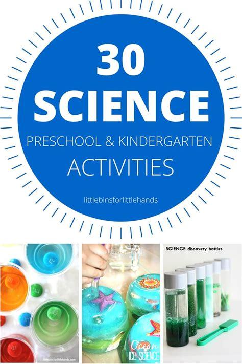 science themes in kindergarten preschool science experiments and science activities