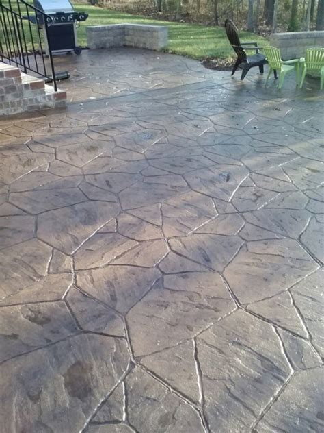 sted concrete patio