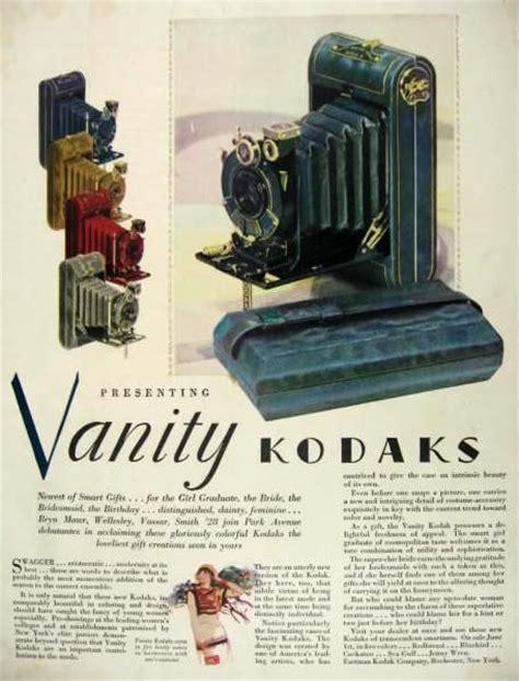 Vanity Advertising 1928 vanity kodak ad kodaks in color vintage radio