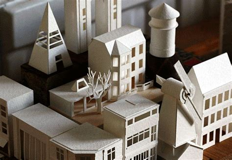 Charles Young Tiny City Paperholm Is Result Of Daily Paper