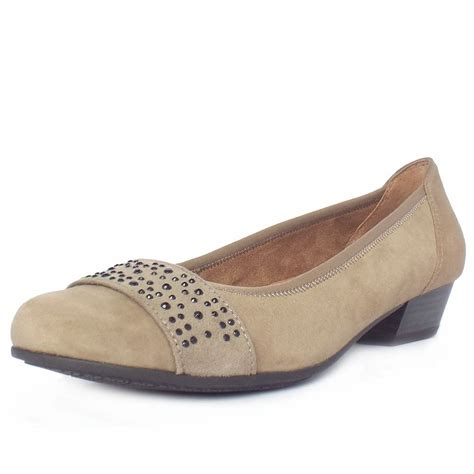 wide fit shoes stamford taupe suede s smart casual wide fit