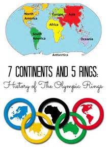 the story of why the the story of the olympic rings with free printable
