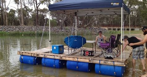 make your own pontoon boat how to build your own party barge this summer