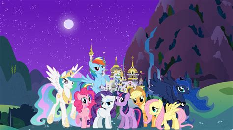 mlp background my pony wallpaper canterlot background by