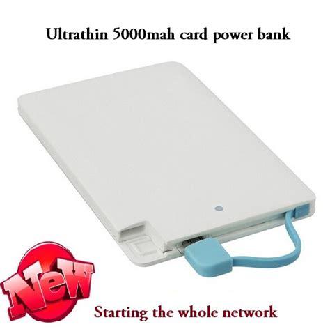 Power Bank Vivan 5000mah Ultra Thin 2015 patented product 5100mah mini card ultrathin