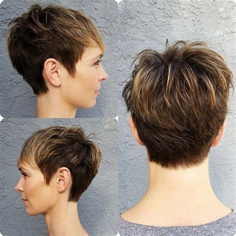 front and back pictures of spiky haircuts for women 50 edgy shaggy messy spiky choppy pixie cuts pixies