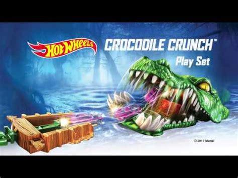 Hotwheels Crocodile Crunch Spesial wheels crocodile crunch play set