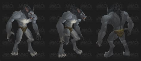 worgen models new worgen model world of warcraft forum wow