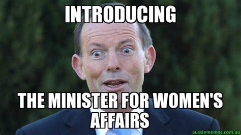 For Meme - introducing the minister for women s affairs tonny