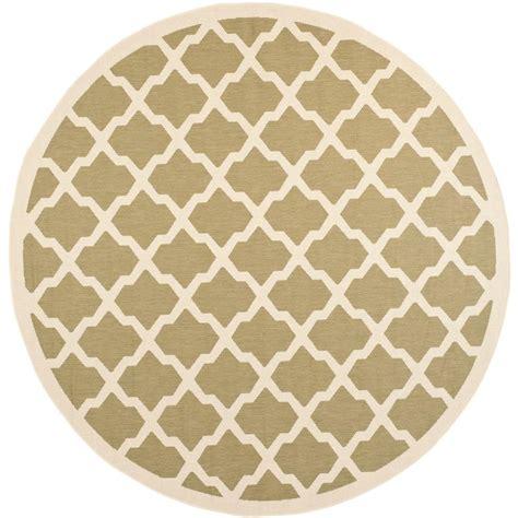 10 foot outdoor rugs safavieh courtyard green beige 7 ft 10 in x 7 ft 10 in indoor outdoor area rug cy6903