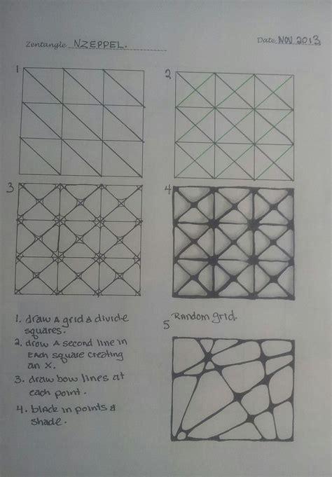 Zentangle Pattern Nzeppel | tangle nzeppel zentangle pinterest
