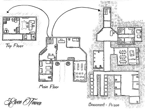 prison floor plan prison map elven tower elven tower