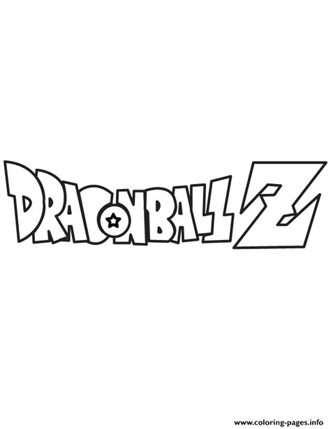My Little Pony Colouring Pages by Dragon Ball Z Logo Coloring Page Coloring Pages Printable